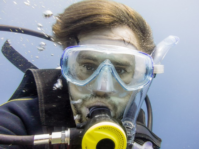 Moustache Tips for Divers