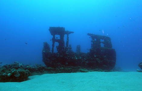 Dive The Corridor Wreck Trek With Adi